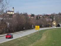 Bundesstraße B 11, neue Fahrbahndecke