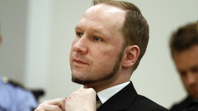 Breivik Prozessbeginn