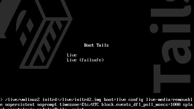 Tails Betriebssystem