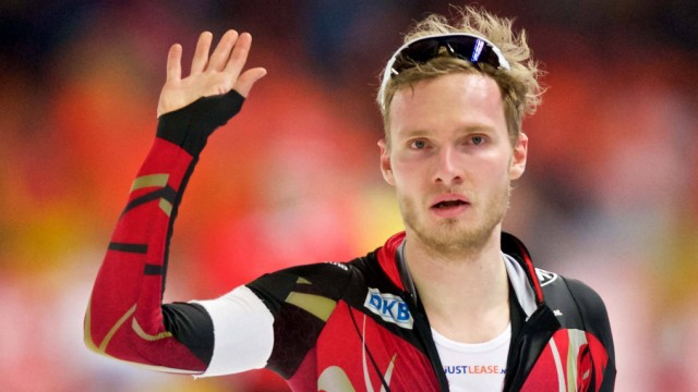 Eisschnelllauf Berlin 06 03 2016 Mehrkampf Weltmeisterschaft WM 1500 m Herren Männer Patrick Beckert
