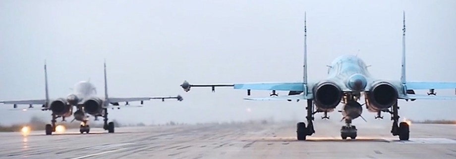 First group of Russian warplanes leave Syria