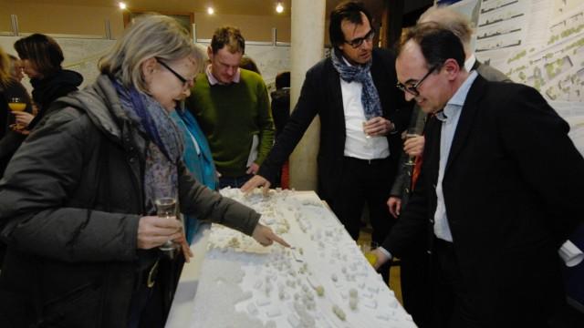 Weßling: Sieger des Architekurwettbewerbs bei der Neugestaltung des BHF
