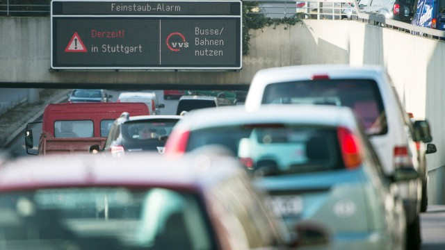 Dritter Feinstaubalarm in Stuttgart