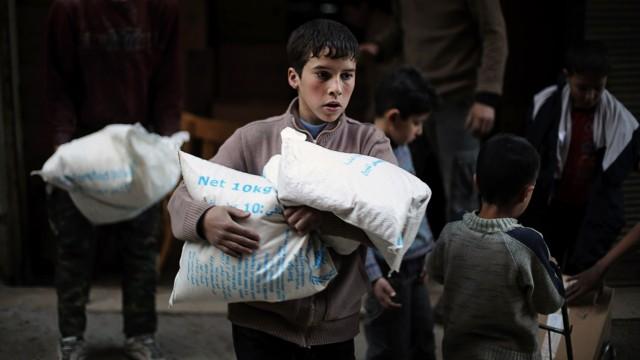 Syrien in Aufruhr Flüchtlingskrise