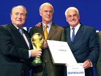 Blatter, Beckenbauer und Radmann