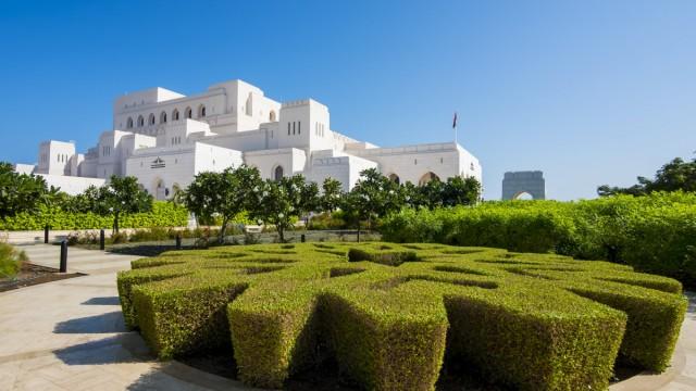 Oman Muscat Royal Opera House Muscat PUBLICATIONxINxGERxSUIxAUTxHUNxONLY AMF004773