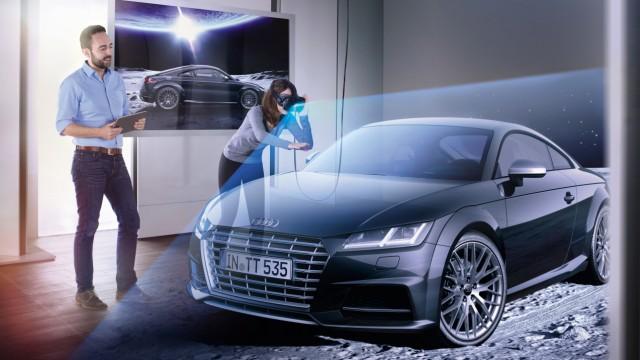 Autohandel der Zukunft bei Audi