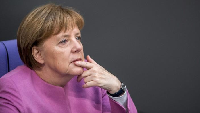 Wie Angela Merkel Franz Josef Strauß Auslegt Politik Szde
