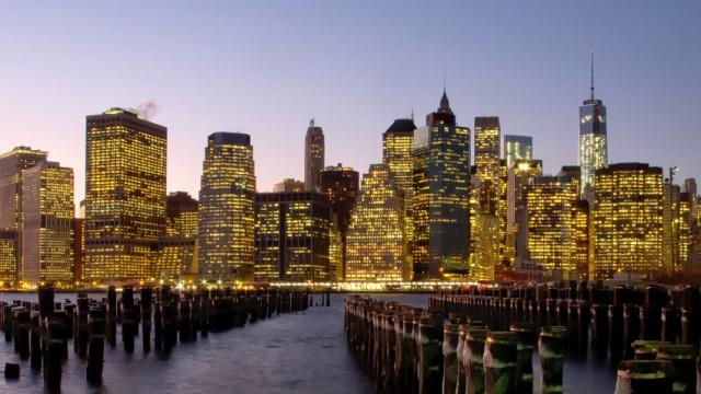 Eiseskälte in New York