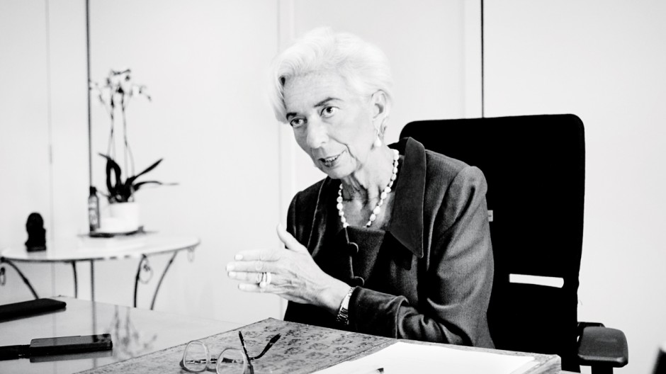 Christine Lagarde in Plan W