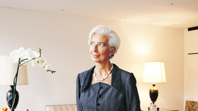 Christine Lagarde für Plan W