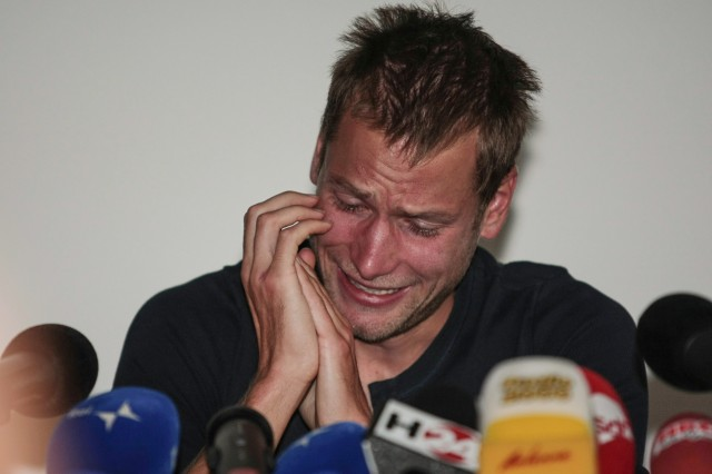 Italy's Alex Schwazer, gold medal of the