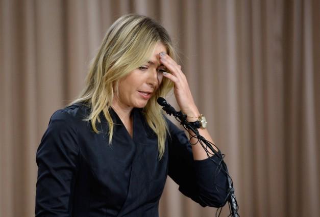 Maria Sharapova News Conference