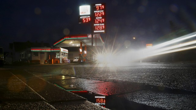 The Wider Image: Fuel prices around the world