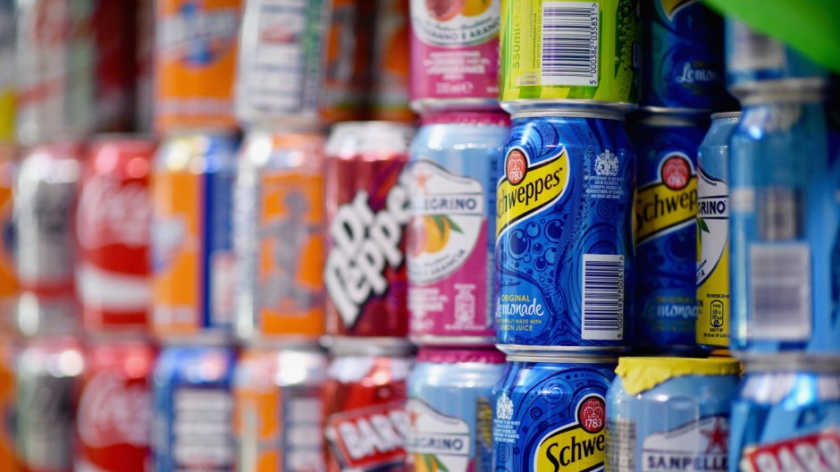 FILE - Sugar tax on soft drinks