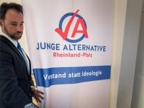 Konstituierende Fraktionssitzung der AfD Rheinland-Pfalz