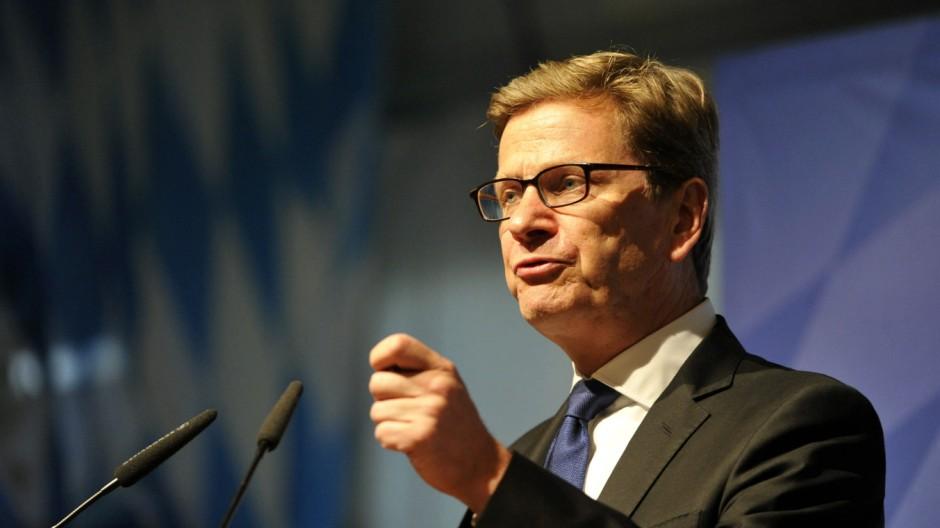 Guido Westerwelle Zum Tod von Guido Westerwelle