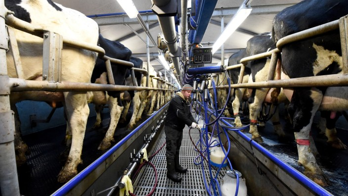 Moderne Landwirtschaft