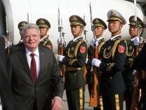 Bundespräsident Gauck besucht China