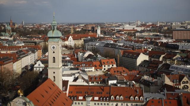 Blick auf München, 2013