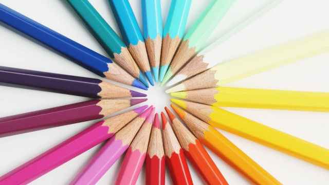 Coloured pencils PUBLICATIONxINxGERxSUIxAUTxHUNxONLY kzdg003705