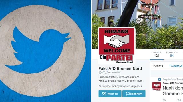 Fake AfD Account Twitter Screenshot