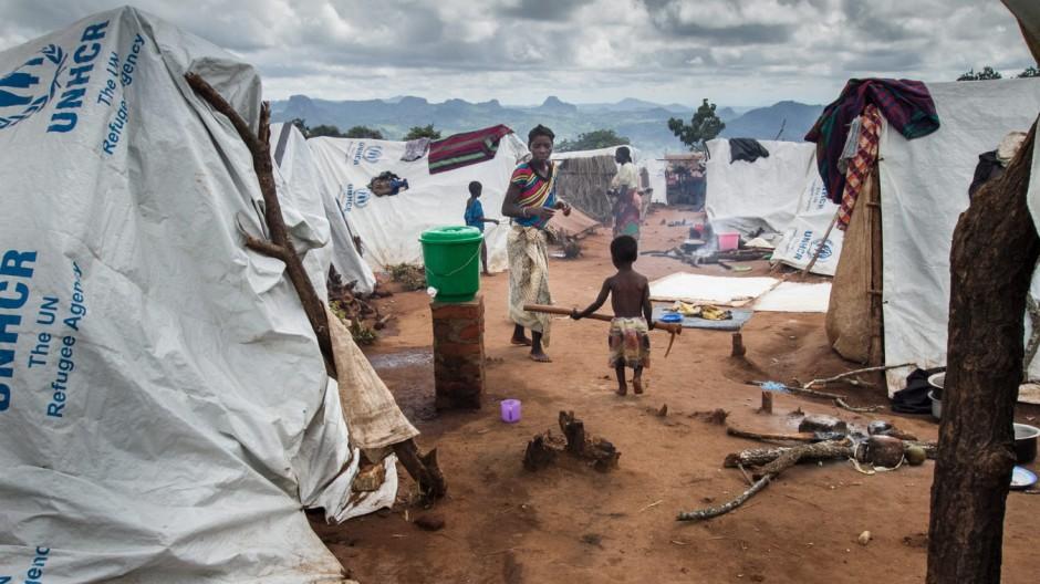 Malawi refugees