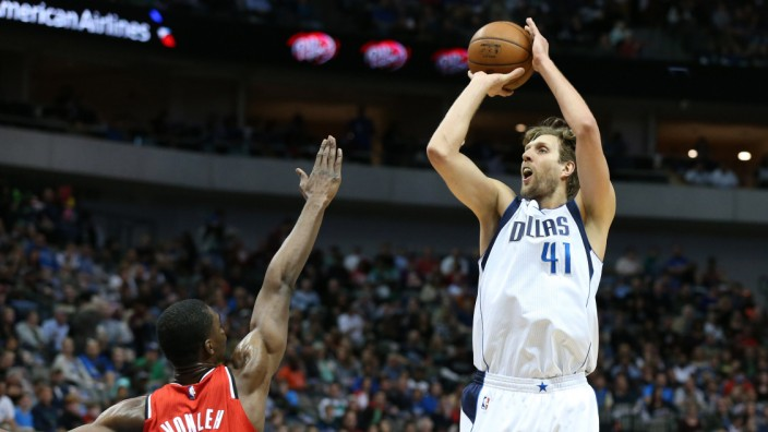 NBA: Portland Trail Blazers at Dallas Mavericks