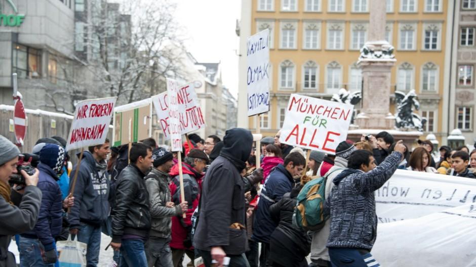 Süddeutsche Zeitung München Protest