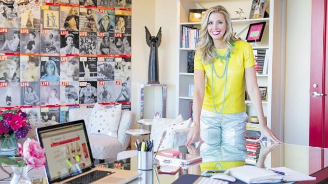 Sara Blakley, You magazine UK, April 7, 2013; Sara Blakely in Plan W