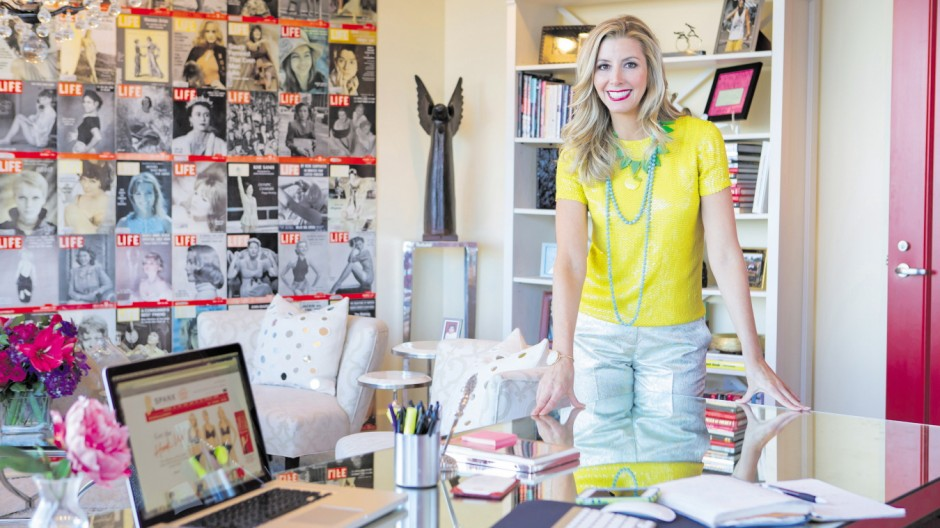Sara Blakley, You magazine UK, April 7, 2013; Sara Blakely in Plan W