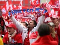 Meisterfeier des FC Bayern München auf dem Münchner Marienplatz, 2015