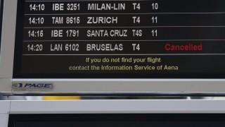 Flugausfälle nach Terroranschlag in Brüssel