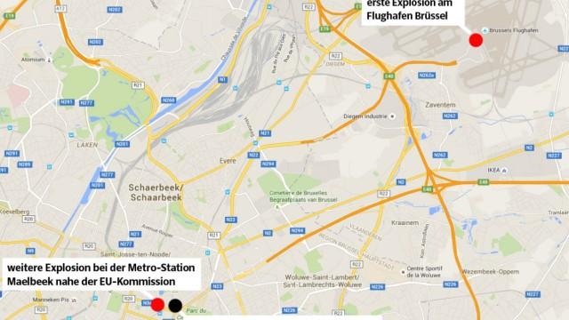 Terroranschläge in Brüssel Nach Terroranschlägen in Brüssel