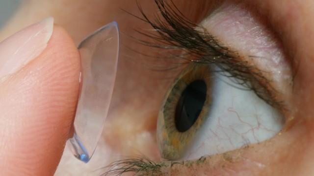 Keine Kontaktlinsen bei Grippe und Erkältung