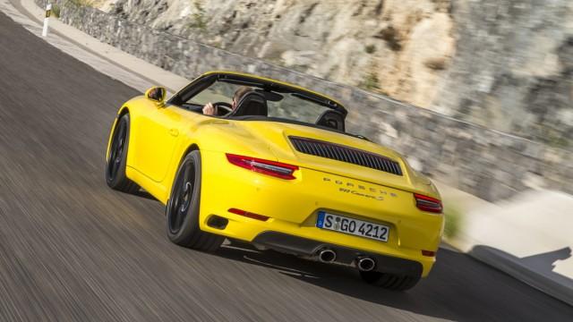Das neue Porsche 911 Carrera S Cabrio.