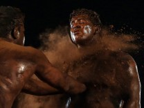 Photo Essay - Kushti, traditional Indian Wrestling in Mumbai