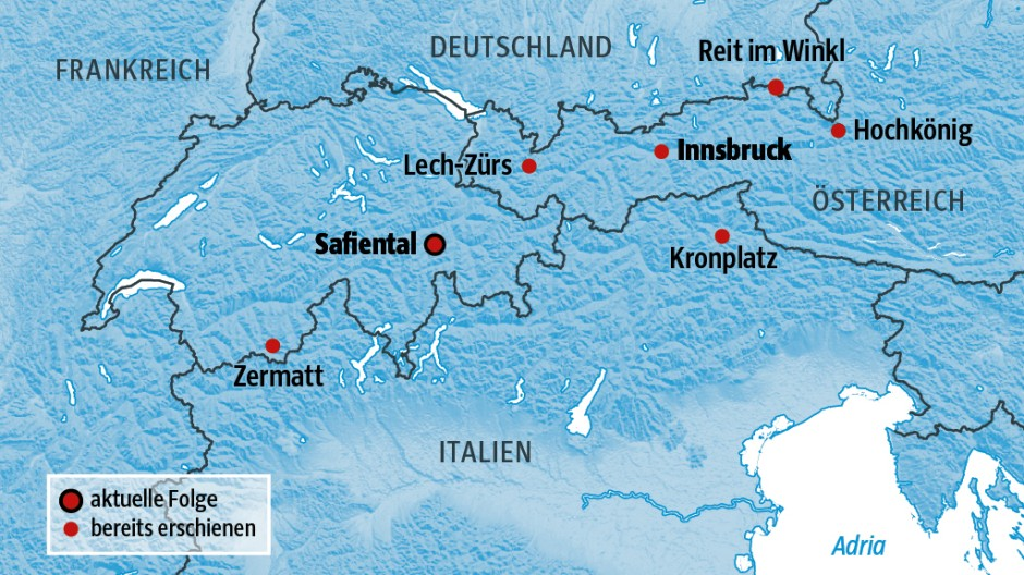 Süddeutsche Zeitung Reise Ein Tag im Schnee