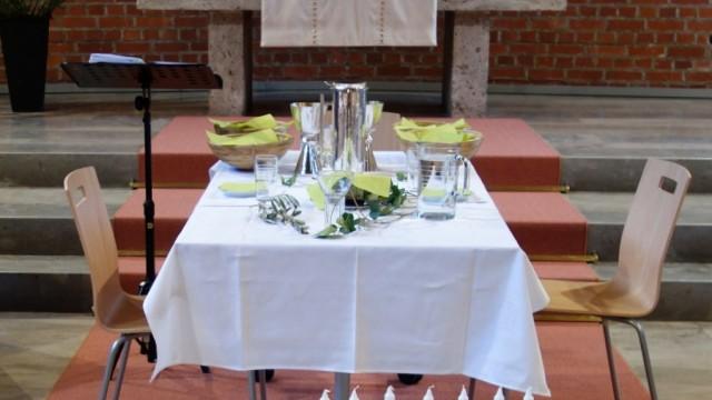 Tisch Abendmahl