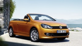 VW Golf Cabrio in Test