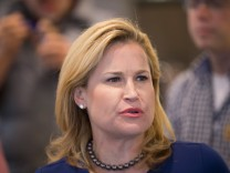 Heidi Cruz Campaigns For Her Husband In Wisconsin