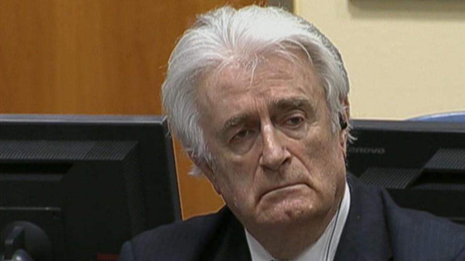 Radovan Karadzic Kriegsverbrecher