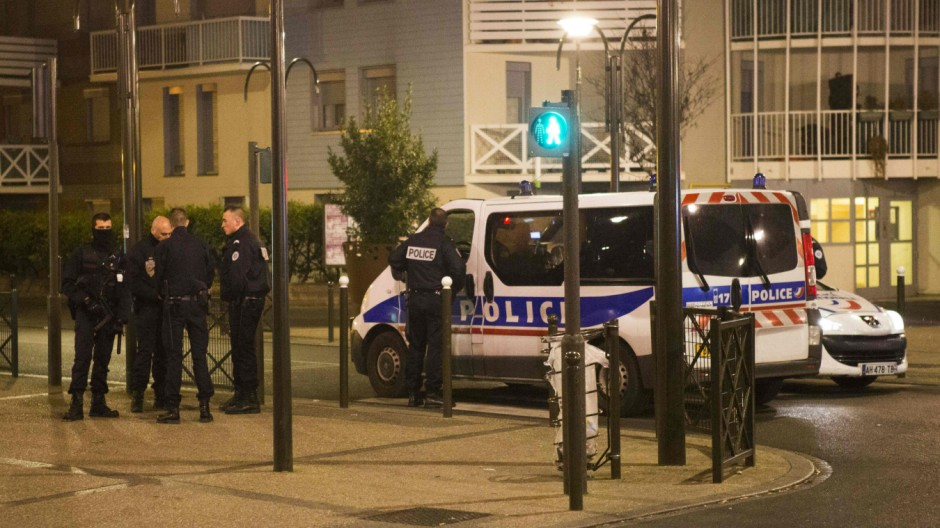 Polizeieinsatz in Argenteuil im Norden von Paris