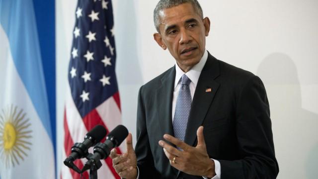 Barack Obama in Buenos Aires, Argentinien