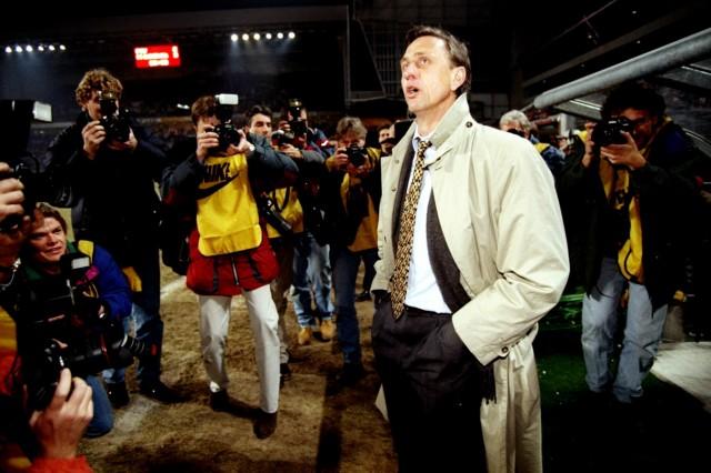 Johan Cruyff of Barcelona