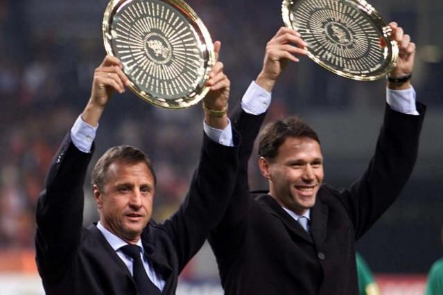 Johan Cruyff und Marco van Basten