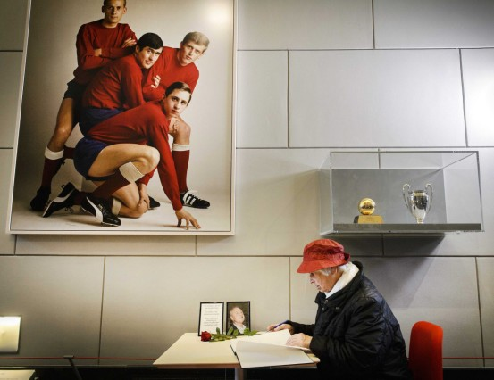 Condolences for Johan Cruyff
