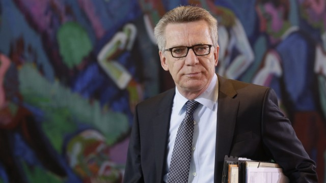 Thomas de Maizière Länderspiel-Absage