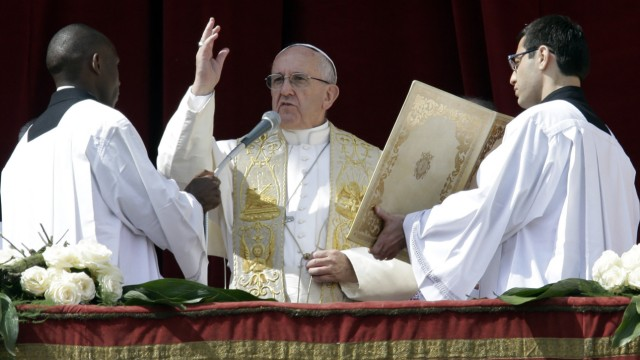 Papst Franziskus Osteransprache