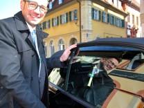 Volkach plant Sanduhr für Kurzparker